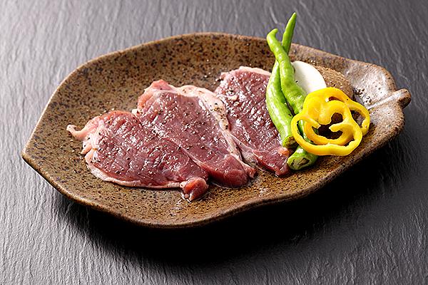 猪肉の陶板焼